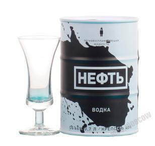 Neft водка Нефть черное пятно