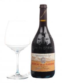 Chateauneuf-du-Pape Chateau de la Gardine Cuvee des Generation Gaston-Philippe французское вино Шатонеф дю Пап Шато де ля Гардин Кюве де Женерасьон Гастон Филип