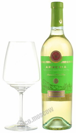 Armenia Anniversary White Semisweet 2011 армянское вино Армения Юбилейный Белое полусладкое 2011