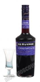 De Kuyper Creme de Cacao Brown ликер Де Кайпер Крем Де Какао Браун