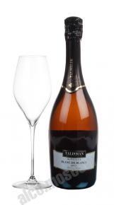 Talisman Blanc De Blancs Brut грузинское шампанское Талисман Блан Де Блан Брют