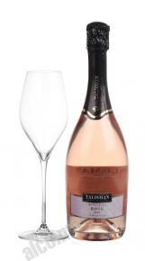Talisman Rose Brut грузинское шампанское Талисман Розе Брют