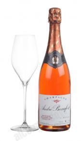 Andre Beaufort Doux Rose Grand Cru 1999 шампанское Андре Буфор Ду Розе Гранд Крю 1999 года