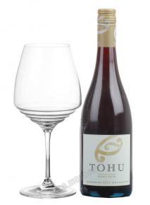Tohu Pinot Noir новозеландское вино Тоху Пино Нуар