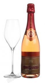 Lucien Albrecht Brut Rose Cremant d`Alsace шампанское Люсьен Альбрехт Брют Розе Креман д`Эльзас