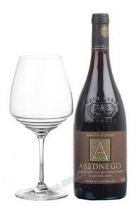 Grant Burge Abednego Shiraz Grenache Mourvedre 2009 вино Грант Бердж Абеднего Шираз Гренаш Мурведр 2009