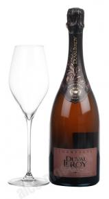 Duval Leroy Fleur de Champagne Rose Шампанское Дюваль-Леруа Флер Де Шампань Розе