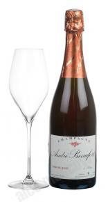 Andre Beaufort Demi-Sec Rose шампанское Андре Буфор Деми-сек Розе