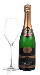 Calixte Cremant d`Alsace Brut AOC французское шампанское Каликст Креман д`Эльзас Брют АОС