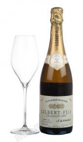 Lilbert&Fils Brut Cramant шампанское Лильбер&Фис Брют Краман п/у