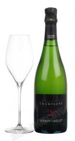 Шампанское Донт-Грелле Блан де Блан Брют 0,75л