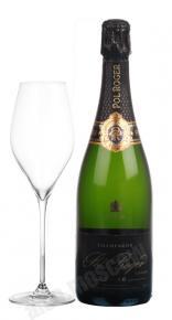 Pol Roger Brut Vintage 2006 gift box французское шампанское Поль Роже Брют Винтаж 2006 в подарочной коробке