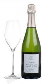 Etienne Calsac Les Rocheforts Blanc de Blancs Premier Cru французское шампанское Етьен Кальсак Ле Рошфорт Блан де Блан Премиер Крю