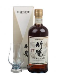 Nikka Taketsuru Pure Malt 17 yrs виски Никка Такетсуру Пьюэ Молт 17-летний