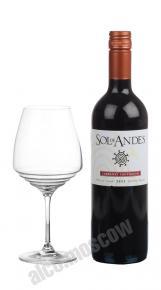 Sol de Andes Cabernet Sauvignon Чилийское вино Сол де Андес Каберне Совиньон