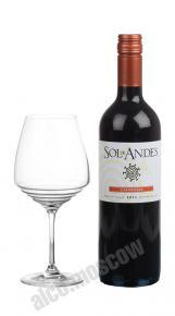 Sol de Andes Carmenere Чилийское вино Сол де Андес Карменер
