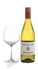 Sol de Andes Chardonnay Чилийское вино Сол де Андес Шардонне