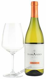 Diamandes Viognier 2012 Аргентинское вино Диамандес Вионье 2012