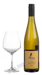 Huia Pinot Gris Marlborough новозеландское вино Хуйа Пино Гриз Мальборо