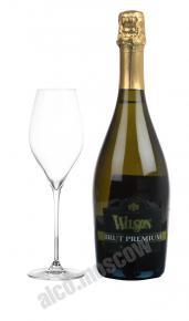 Wilson Brut Premium итальянское шампанское Вильсон Брют Премиум