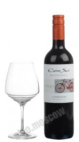 Cono Sur Bicicleta Carmenere чилийское вино Коно Сур Бисиклета Карменер