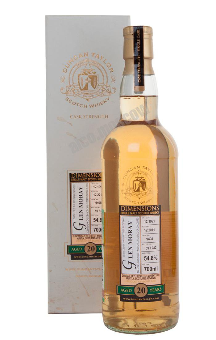 Glen Moray Glen Moray 20 years шотландский виски Глен Морэй 20 лет